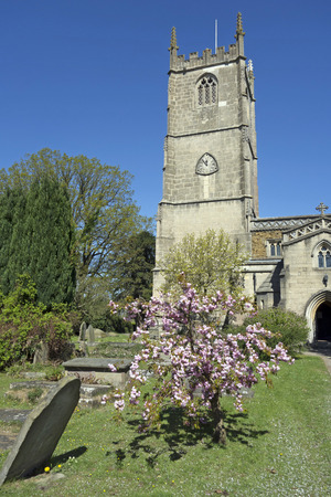 old english: Old English country Church