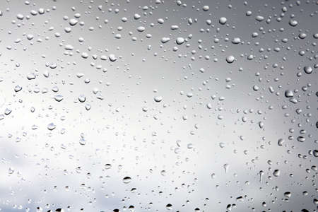 pane: Raindrops on a window pane