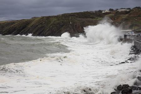 british isles: Stormy Seas Isle of Man