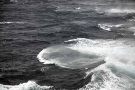 rough: Very rough seas Stock Photo