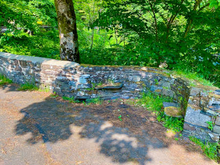 The bridge at Tholt-y-Will over the Sulby River in the beautiful countryside of the Isle of Man, British Isles Reklamní fotografie