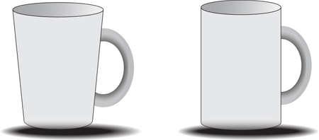white: white cups