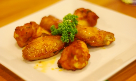 Bring chicken to marinade and then grilled  photo