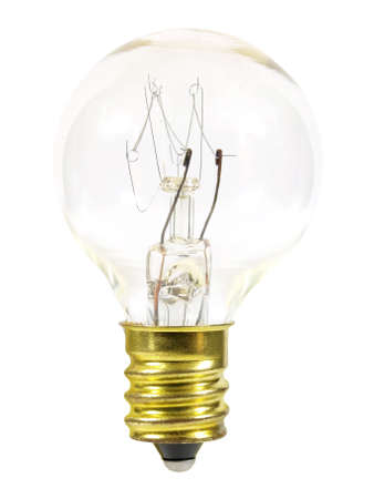 Small light bulb - front