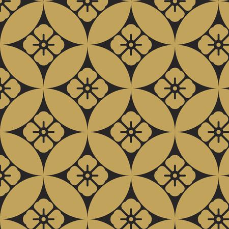 Japanese seven jewels pattern