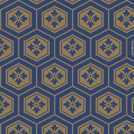 Japanese tortoiseshell pattern Illustration