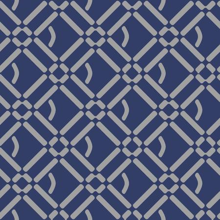 Japanisches diagonales quadratisches Muster