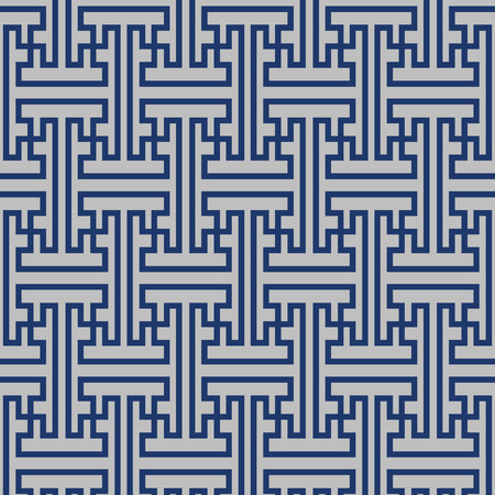 Japanese Zigzag Maze Pattern