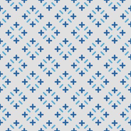 Japanese Blue Stitch Pattern
