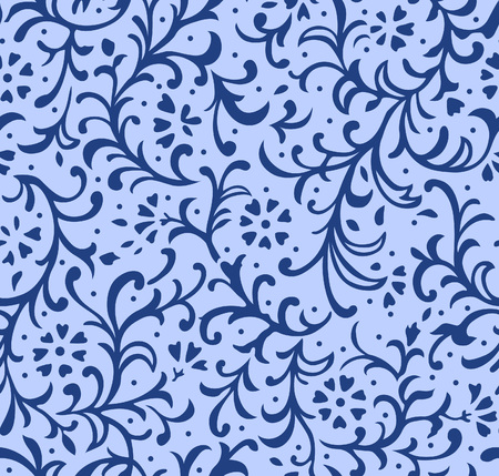 Japanese Blue Ivy Pattern