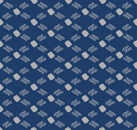 Japanese Blue Weave Seamless Pattern