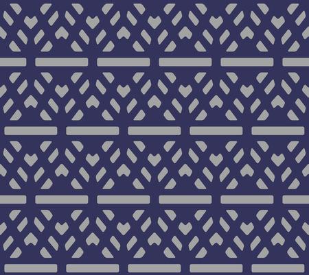 Japanese Stitch Seamless Pattern