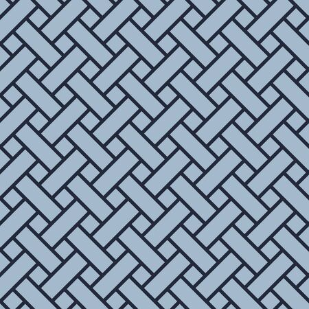 Japanese Basket Weave Seamless Pattern