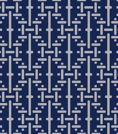 Japanese Basket Weave Seamless Pattern