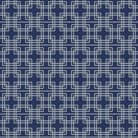 Japanese Overlapping Square Seamless Pattern 向量圖像