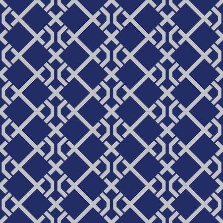 Modèle sans couture carré de tissage japonais Vecteurs
