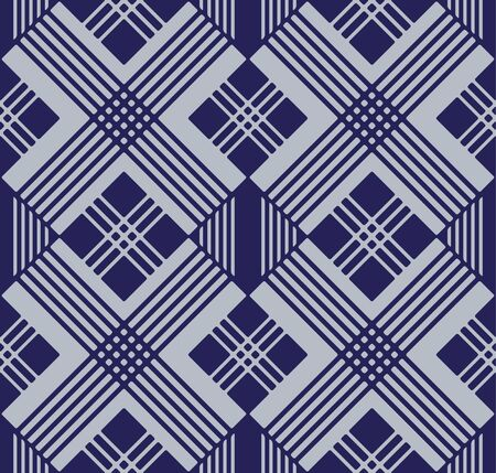 Japanese Diamond Diagonal Seamless Pattern