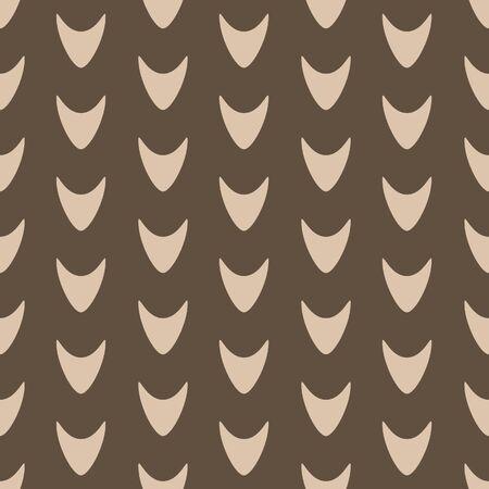 Japanese Curve Arrow Vector Seamless Pattern 向量圖像