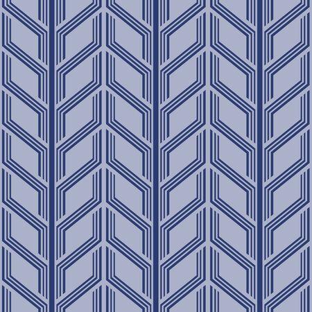 Japanese Arrow Stripe Vector Seamless Pattern 向量圖像