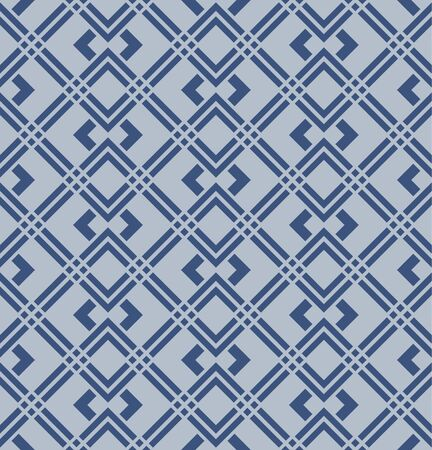 Japanese Square Weaving Vector Seamless Pattern 向量圖像