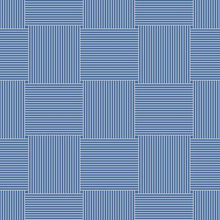 Japanese Weaving Line Vector Seamless Pattern 向量圖像