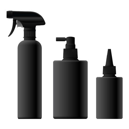 Black Car Detailing Bottle