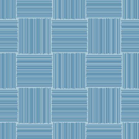 Japanese Diagonal Square Vector Seamless Pattern 向量圖像