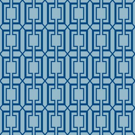 Japanese Rectangle Diamond Vector Seamless Pattern