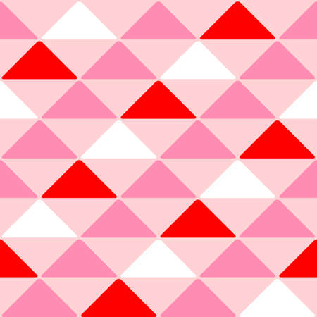 Japanese Triangle Mosaic Vector Seamless Pattern Stock fotó - 155872323