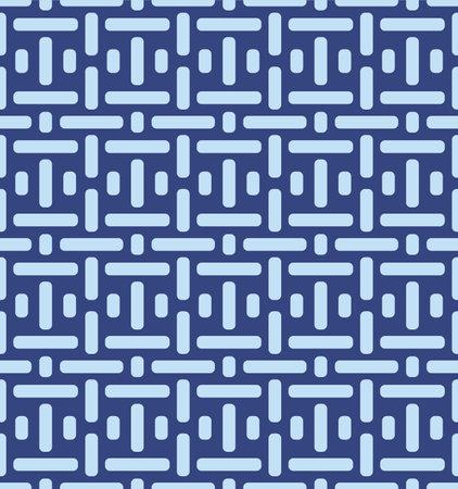 Japanese Weave Vector Seamless Pattern