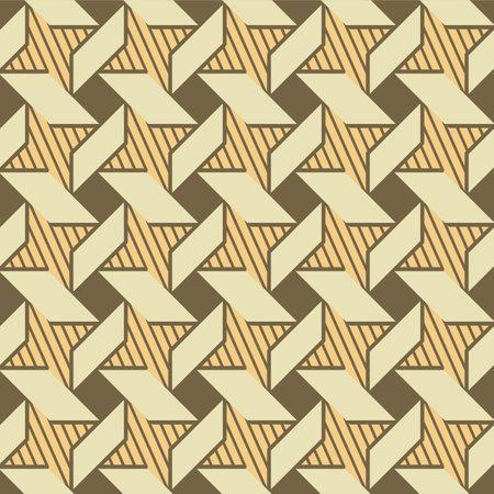 Japanese Luxury Geometric Windmill Vector Seamless Pattern Illusztráció