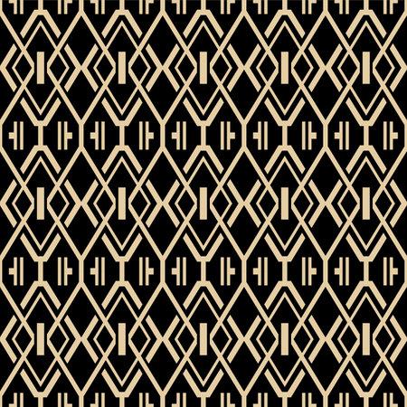 Japanese Luxury Diamond Vector Seamless Pattern Illusztráció