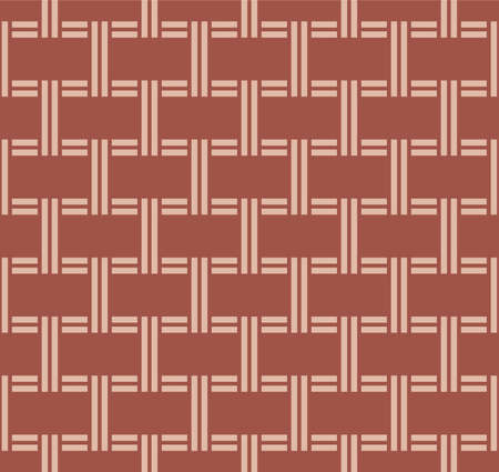 Japanese Classic Weave Vector Seamless Pattern