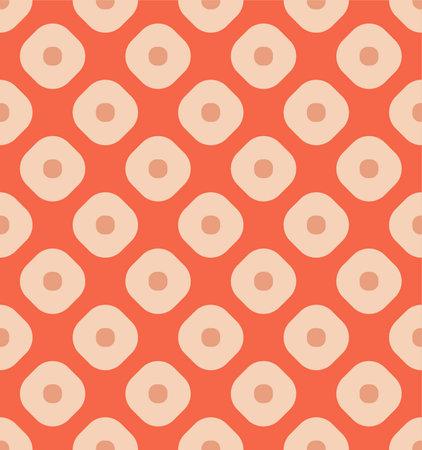 Japanese Dot Diamond Vector Seamless Pattern Illusztráció