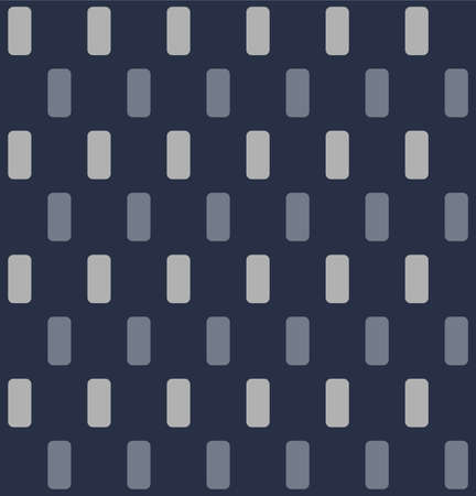 Japanese Rectangle Plaid Vector Seamless Pattern