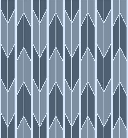 Japanese Arrow Stripe Vector Seamless Pattern Illusztráció