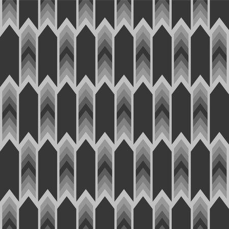 Japanese Motion Arrow Vector Seamless Pattern