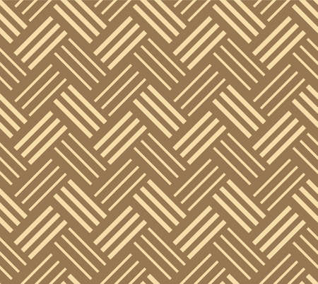 Japanese Zigzag Weave Vector Seamless Pattern