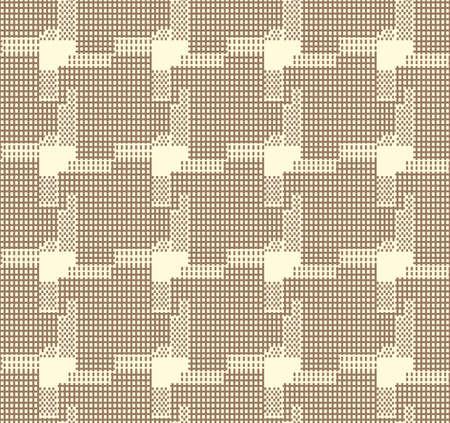 Japanese Weave Turbine Vector Seamless Pattern Illustration