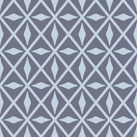 Japanese Luxury Diamond Vector Seamless Pattern Illustration