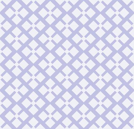 Japanese Square Flower Vector Seamless Pattern