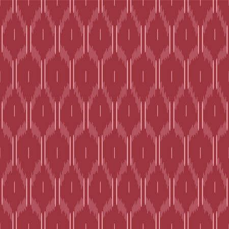 Japanese Stitch Line Loop Vector Seamless Pattern