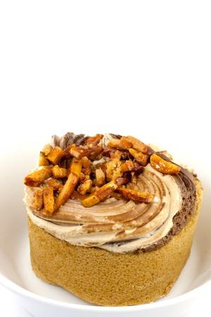 orange cake: Orange cake roll