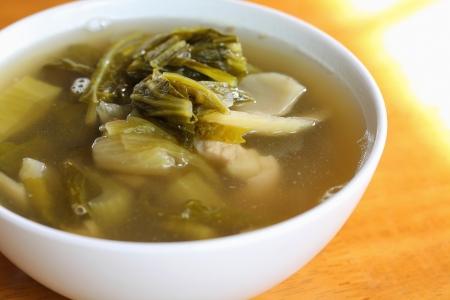 vegetable soup ickles, hot billing