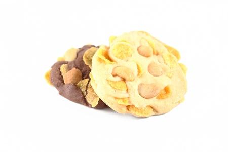 Cookies, chocolate and vanilla photo