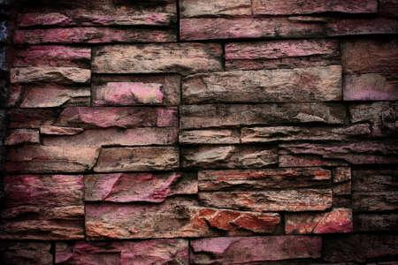 sorted: Old Bricks sorted Background Stock Photo