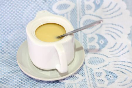 sweetened: sweetened condensed milk for coffee
