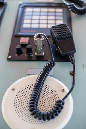cb phone: Radio communication Stock Photo
