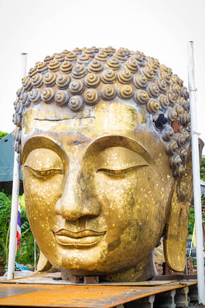 Buddha testa Archivio Fotografico