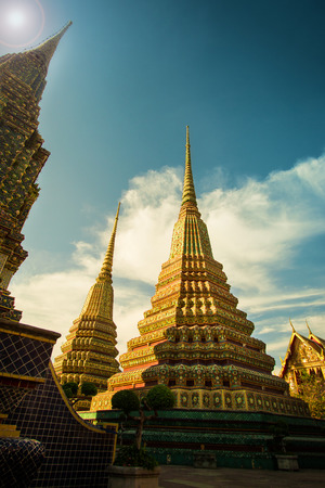 The beauty of the temple. Thailand photo